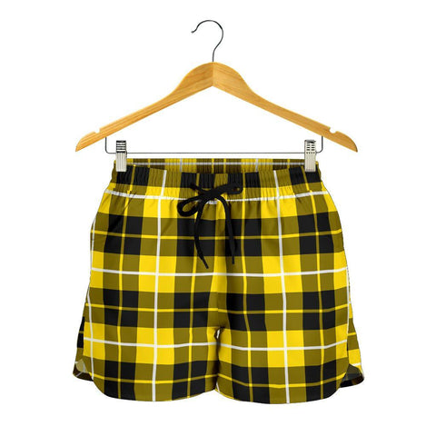 Barclay Dress Modern Tartan Shorts For Women