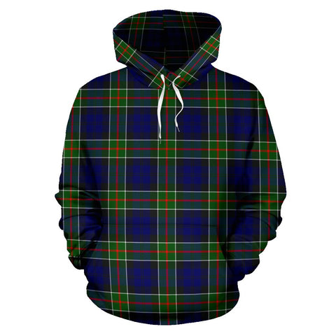 Image of Tartan Clan Colquhoun Modern Plaid Hoodie