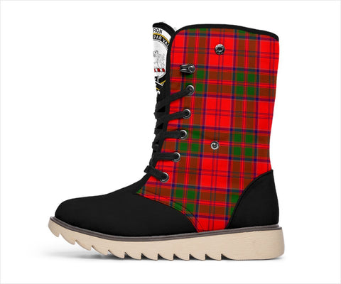 Image of Tartan Women's Snow Boots - Clan Heron Boots - BN