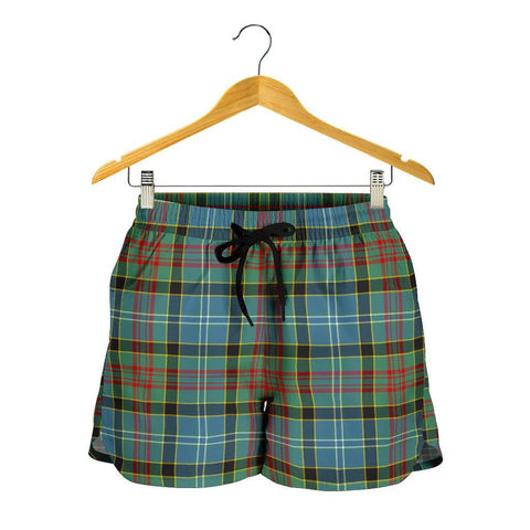 Image of Paisley District Tartan Shorts For Women