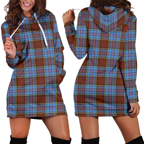 Anderson Modern, Tartan, For Women, Hoodie Dress For Women, Scottish Tartan, Scottish Clans, Hoodie Dress, Hoodie Dress Tartan, Scotland Tartan, Scot Tartan, Merry Christmas, Cyber Monday, Black Friday, Online Shopping,Anderson Modern Hoodie Dress