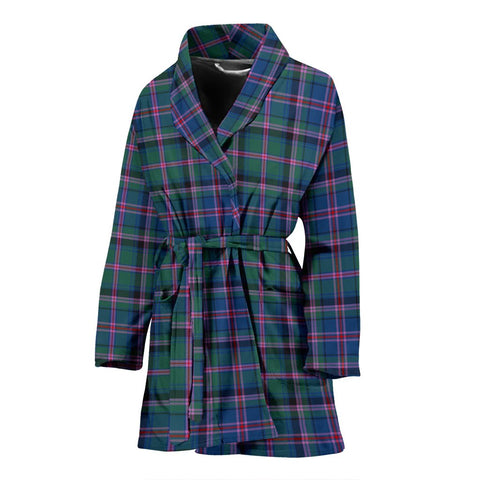 Cooper Ancient Bathrobe | Women Tartan Plaid Bathrobe | Universal Fit