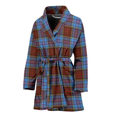 Anderson Modern Bathrobe | Women Tartan Plaid Bathrobe | Universal Fit