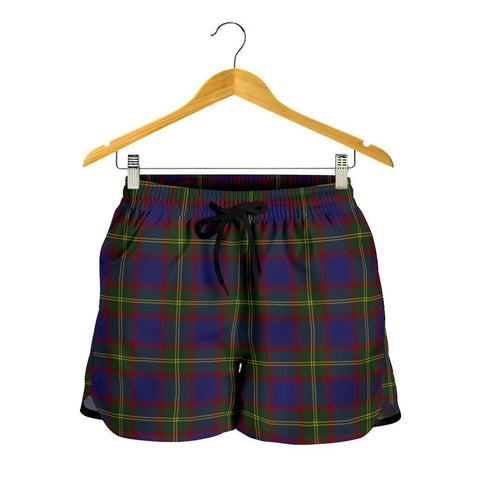 Durie Tartan Shorts For Women
