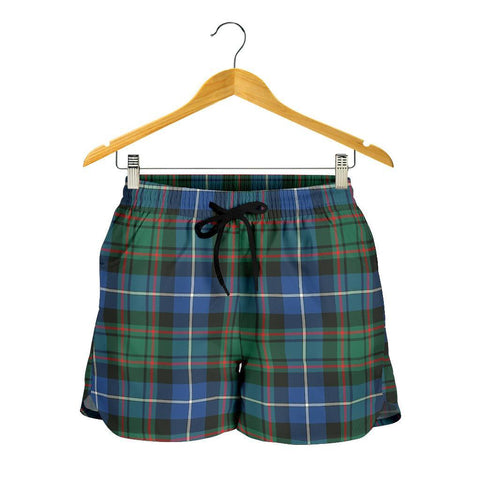 MacRae Hunting Ancient Tartan Shorts For Women