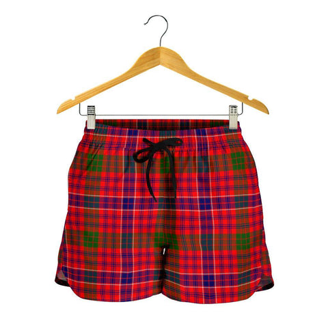 MacRae Modern Tartan Shorts For Women