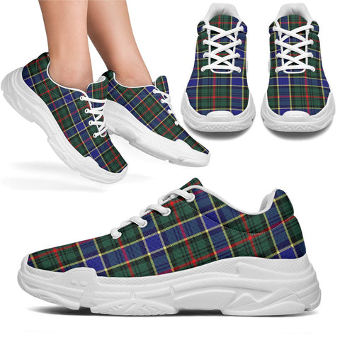 Chunky Sneakers - Tartan Ogilvie Hunting Modern Shoes