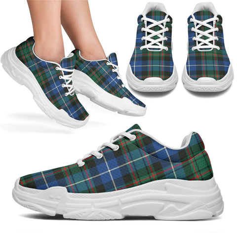 Chunky Sneakers - Tartan MacRae Hunting Ancient Shoes