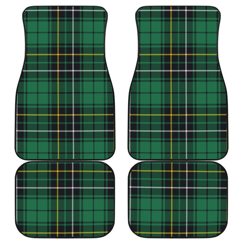 Car Floor Mats - Clan Macalpine Ancient Plaid Tartan Car Mats - 4 Pieces