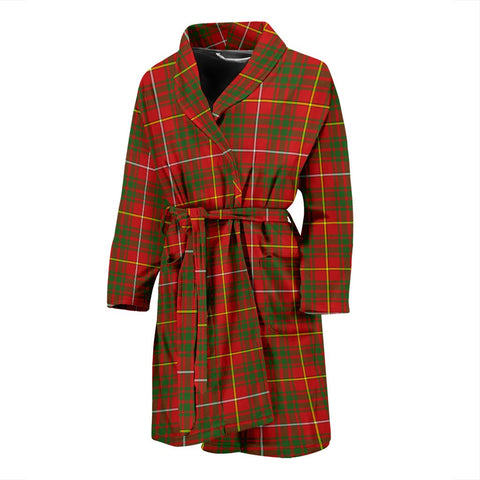 Bruce Modern Bathrobe | Men Tartan Plaid Bathrobe | Universal Fit