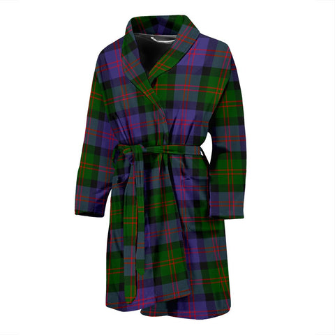 ScottishShop Blair Modern Bathrobe | Men Tartan Plaid Bathrobe