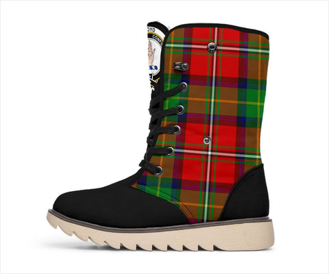 Image of Tartan Women's Snow Boots - Clan Boyd Boots - BN