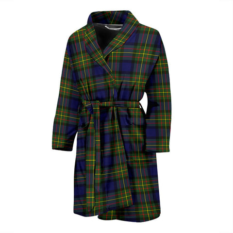 MacLaren Modern Bathrobe | Men Tartan Plaid Bathrobe | Universal Fit