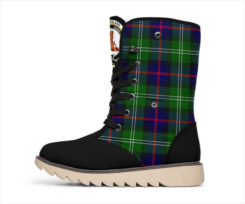 Image of Tartan Women's Snow Boots - Clan Sutherland II Boots - BN
