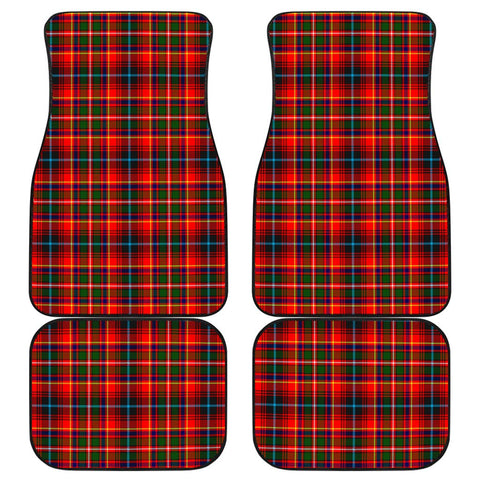 Car Floor Mats - Clan Innes Modern Plaid Tartan Car Mats - 4 Pieces