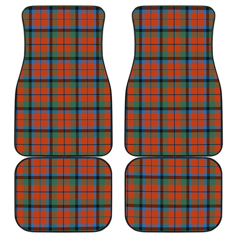 Car Floor Mats - Clan Macnaughton Ancient Plaid Tartan Car Mats - 4 Pieces