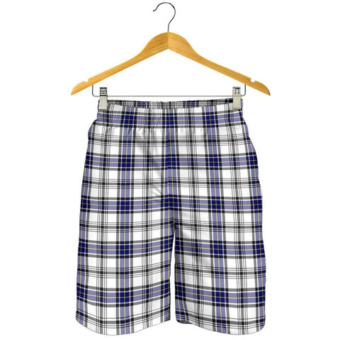 Tartan Mens Shorts - Clan Hannay Modern Plaid Shorts