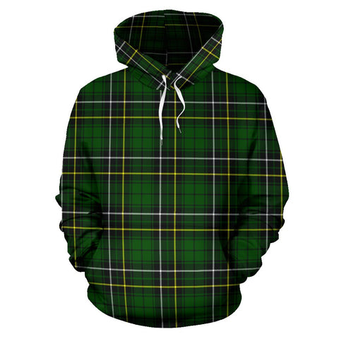 Image of Tartan Clan Macalpine Modern Plaid Hoodie