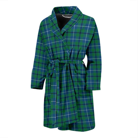 Douglas Ancient Bathrobe | Men Tartan Plaid Bathrobe | Universal Fit