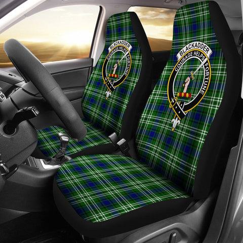 ScottishShop Seat Cover - Tartan Crest Blackadder Car Seat Cover Clan Badge - Universal Fit
