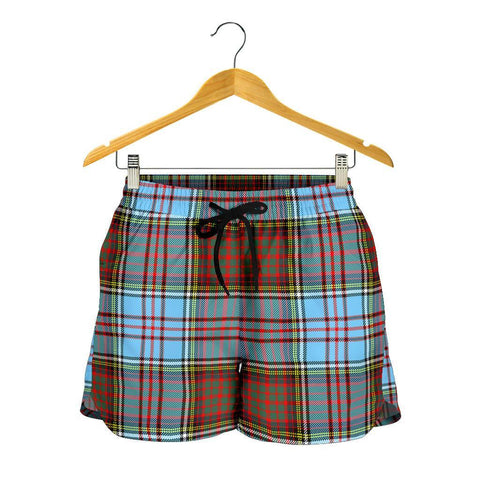Image of Anderson Ancient Tartan Shorts For Women