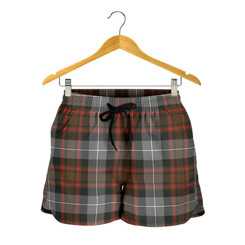 Image of MacRae Hunting Weathered Tartan Shorts For Women