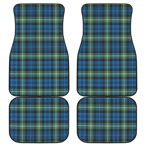 Car Floor Mats - Clan Lamont Ancient Plaid Tartan Car Mats - 4 Pieces