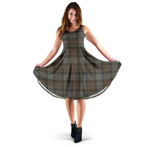 Outlander Fraser Tartan Women's Dress