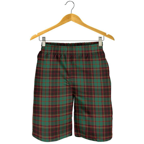 Image of Tartan Mens Shorts - Clan Buchan Ancient Plaid Shorts