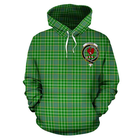 Tartan Clan Currie Plaid Hoodie With Crest