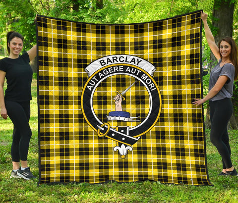 Image of Premium Quilt - Barclay Dress Modern Tartan Quilt - Clan Crest TH8