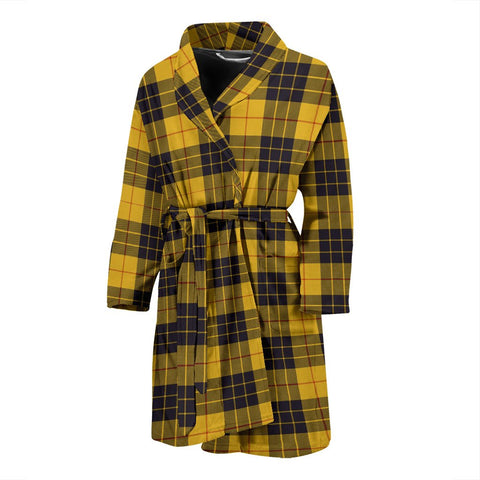 MacLeod Of Lewis Ancient Bathrobe | Men Tartan Plaid Bathrobe | Universal Fit