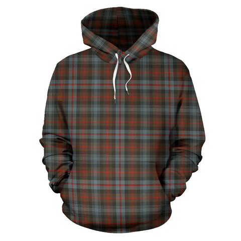 Image of Tartan Clan Murray Of Atholl Weathered Plaid Hoodie