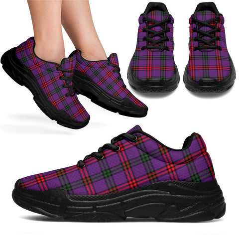 Chunky Sneakers - Tartan Montgomery Modern Shoes