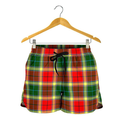 Gibbs Tartan Shorts For Women