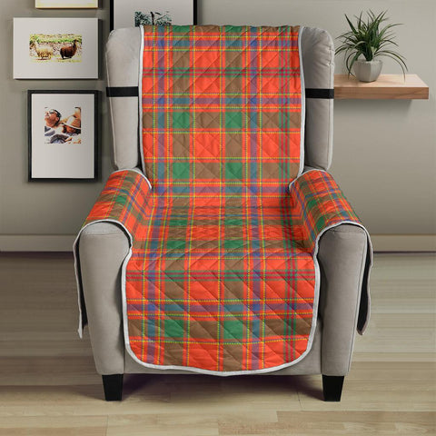 Clan Munro Ancient Plaid Sofa Protector - 23 Inches