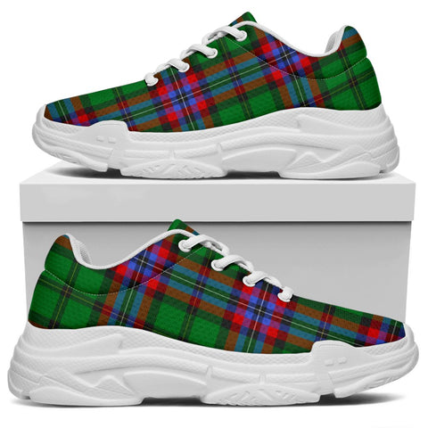 Image of Chunky Sneakers - Tartan McGeachie Shoes
