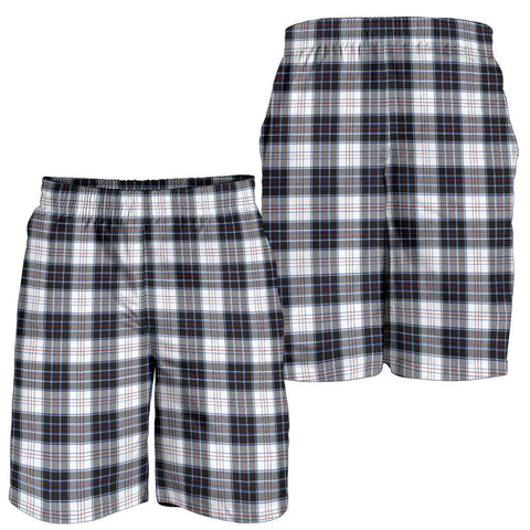 Tartan Mens Shorts - Clan MacRae Dress Modern Plaid Shorts