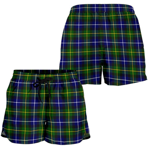 Image of ScottishShop Macneill Of Barra Modern Tartan Shorts For Women
