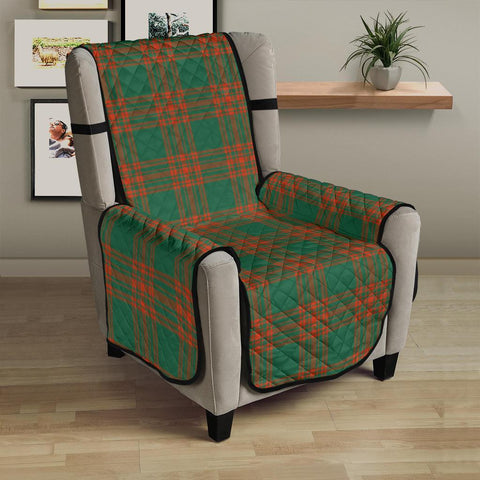 Clan Menzies Green Ancient Plaid Sofa Protector - 23 Inches