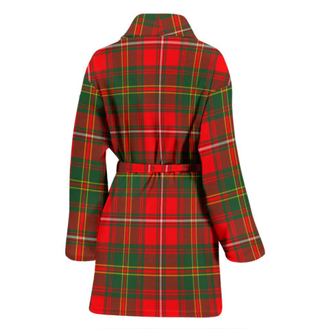 Hay Modern Bathrobe | Women Tartan Plaid Bathrobe | Universal Fit