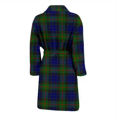 Gunn Modern Bathrobe | Men Tartan Plaid Bathrobe | Universal Fit