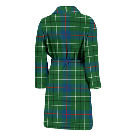Duncan Ancient Bathrobe | Men Tartan Plaid Bathrobe | Universal Fit