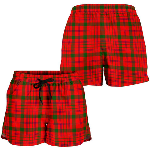 Macdonnell Of Keppoch Modern Tartan Shorts For Women