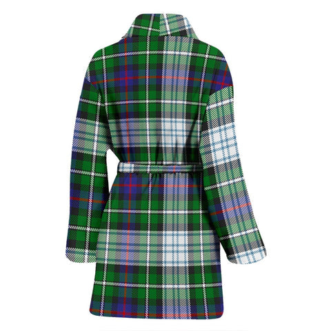 Image of ScottishShop MacKenzie Dress Modern Bathrobe | Women Tartan Plaid Bathrobe