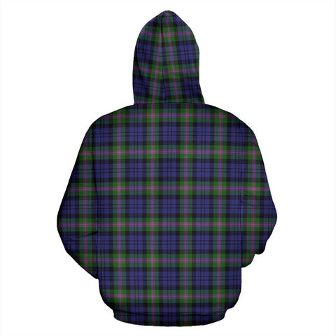 ScottishShop Baird Tartan Clan Badge Hoodie