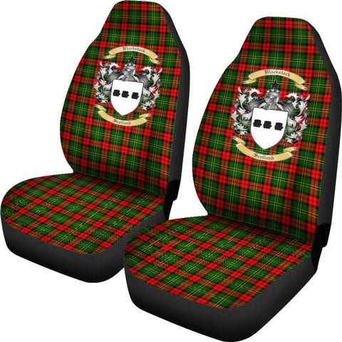 Blackstock Tartan Car Seat Covers Clan Badge