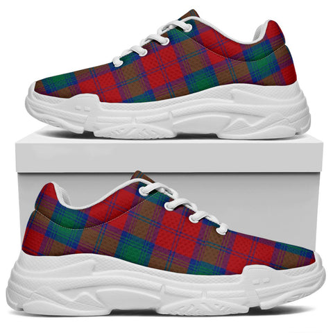 Image of Chunky Sneakers - Tartan Lindsay Modern Shoes