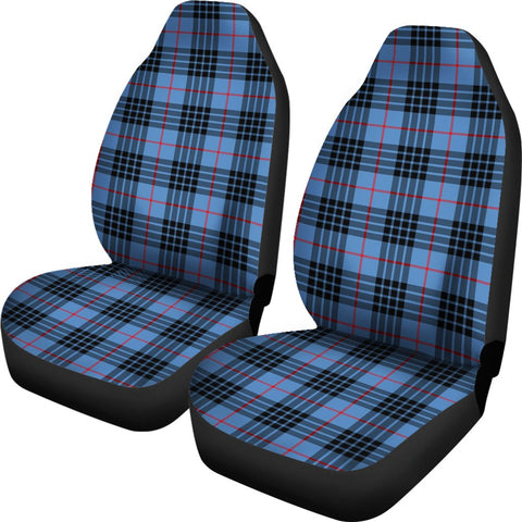 Mackay Blue Tartan Car Seat Covers