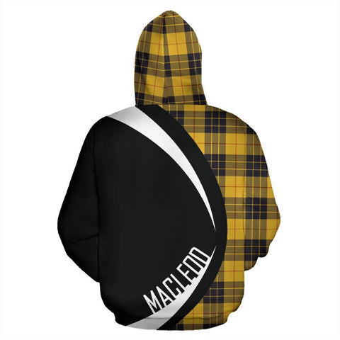 Image of ScottishShop Tartan Zip Up Hoodie - Clan MacLeod Of Lewis Ancient Hoodie - Circle Style